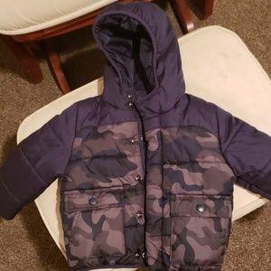 Baby Boy Puffer Coat